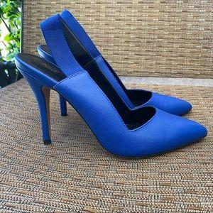 Aldo Cobalt Blue Slingback